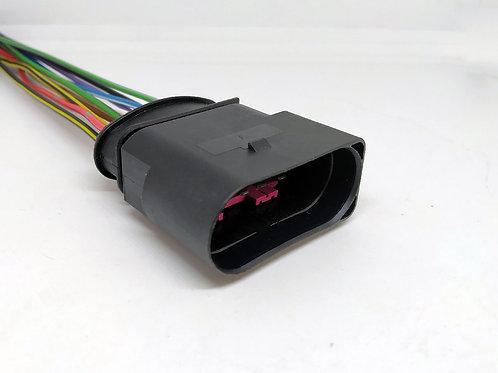 Soquete Plug Conector Macho Farol Jetta Golf MG4907