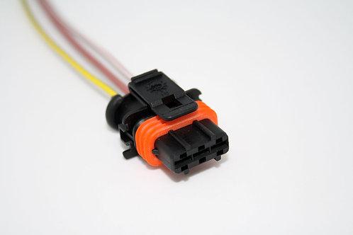 Soquete Plug Conector P/ Bobina De Ignição Marea Turbo