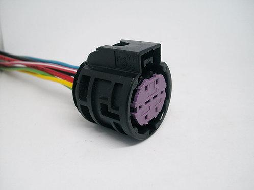 Soquete Plug Conector 8 Vias Farol: Punto.
