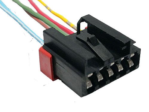Soquete Plug Conector Lanterna Traseira Novo Uno