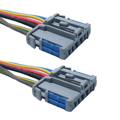 Soquete Plug Conector Lanterna Traseira Peugeot 206 Kit C/ 2