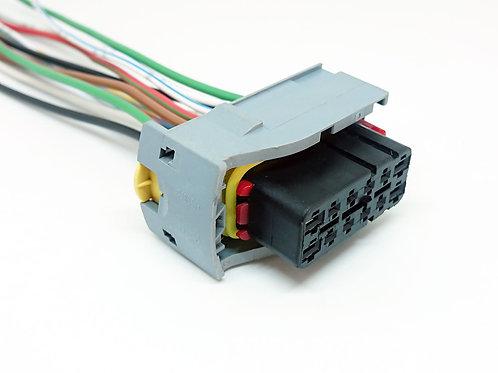 Soquete Plug Conector Farol Lanterna Iveco Daily 12 Vias