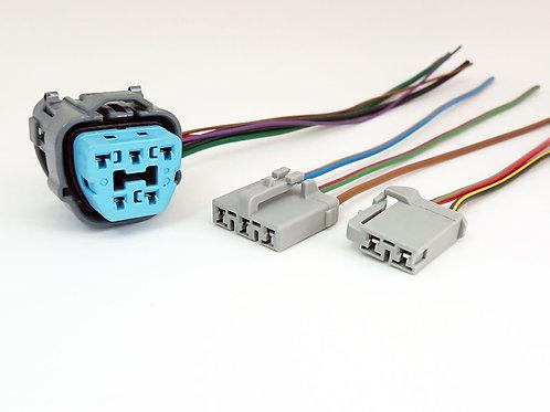 Kit Chicote Plug Conector Flange Bomba de Combustível Fusion 3 Peças