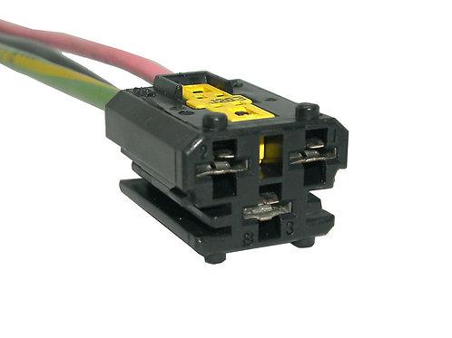 Soquete Plug Conector Ventoinha Peugeot 206 E 207