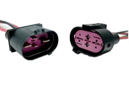 Chicote Plug Conector Ventoinha Vw Audi A3 Golf Bora Kit C/2
