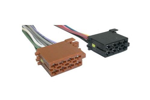 Soquete Plug Conector Para Instalação De Som Kit C 10 Pares