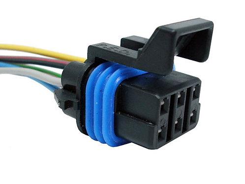 Soquete Plug Conector Bobina De Ignição 6 Pinos Fiat Stilo, ASTRA Vectra