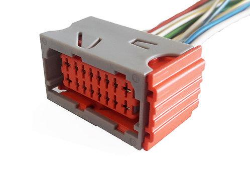 Soquete Plug Conector Cinza P/ Caixa De Fusível Peugeot 206