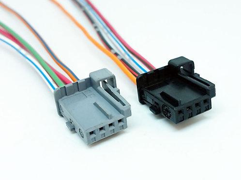 KIT Plug Conector 4 vias P/ Paddle Shift do Citroen Grand  Picasso com 2