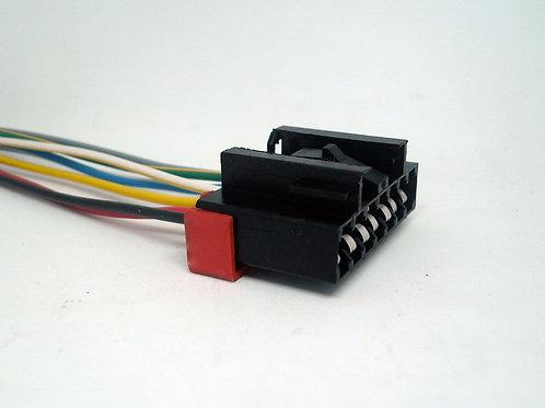 Soquete Plug Conector P/ Lanterna Traseira Fiat Uno