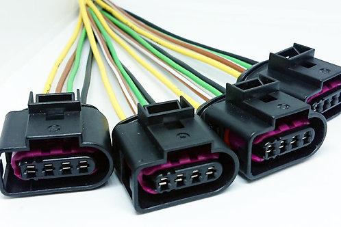 Chicote PLUG Conector P/ Bobina Ignição Gol G6 Up Kit C 4
