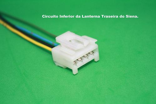 Soquete Plug Conector Lanterna Traseira: Punto MG3416