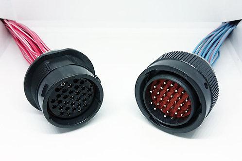 Kit Chicote Plug Conector Deutsch 31 Vias - HDP24-24-31ST/HDP26-24-31PT
