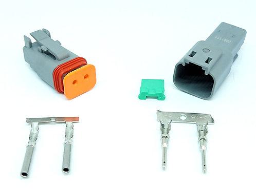 Soquete Conector Linha Agrícola Dt06-2s Dt04-2p Kit54