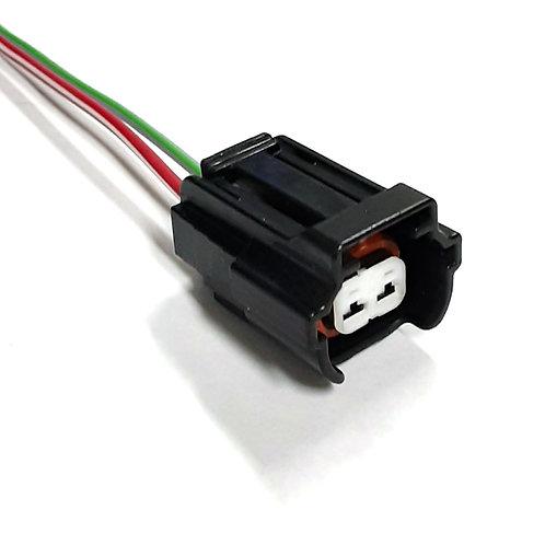 Soquete Plug Conector p/ Bico Injetor Moto Honda Hornet 600CBR 600F