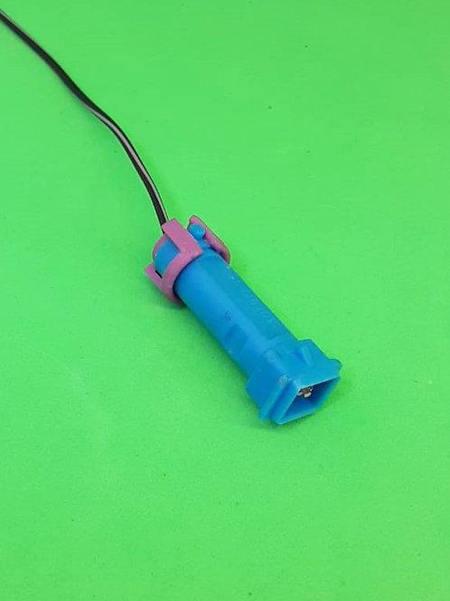 Soquete Plug Conector Macho Para Lanterna VW, Elétrico e Injeção Kit com 5