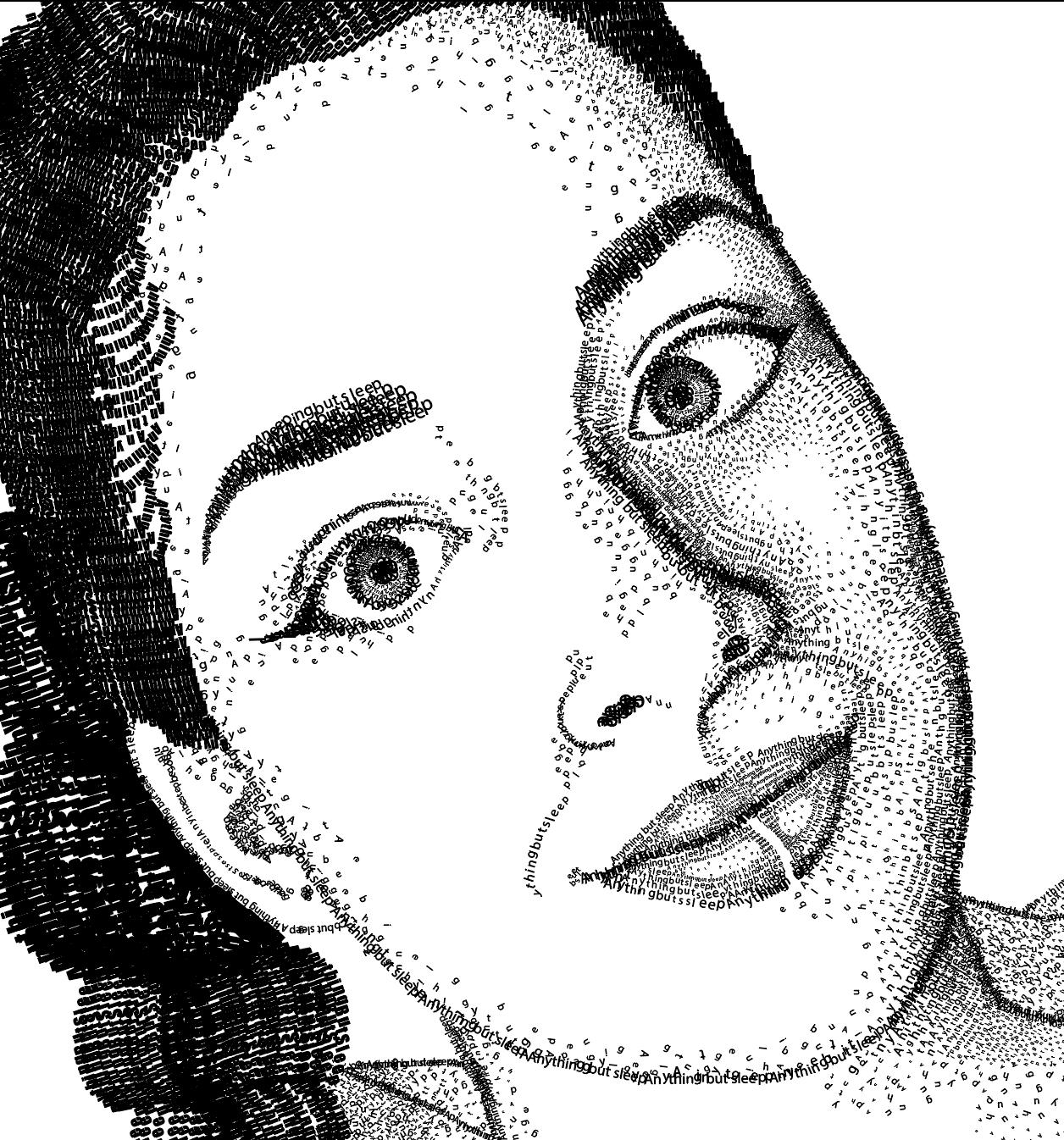 Letter Portrait