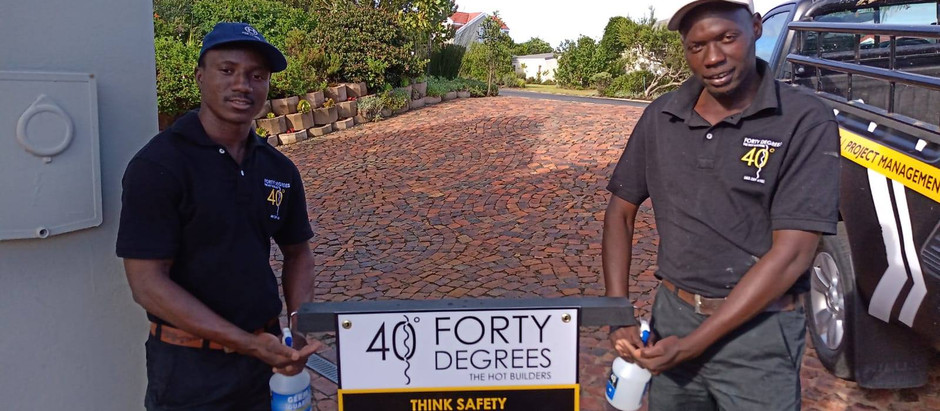 Forty Degrees' COVID 19 response