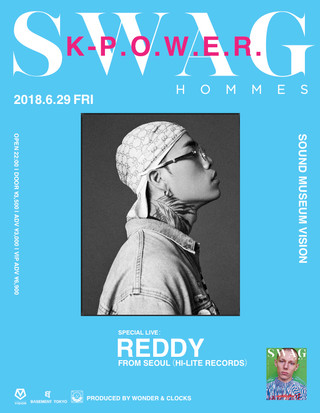 SWAG HOMMES × K-P.O.W.E.R.  feat. Reddy from seoul(Hi-Lite Records)