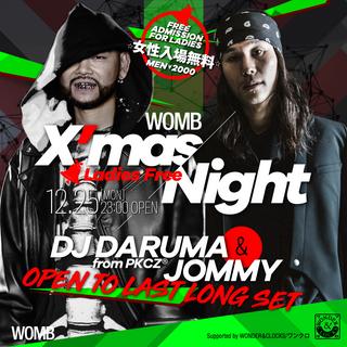 WOMB XMAS SPECIAL NIGHT -LADIES FREE-