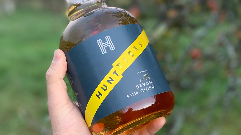 Hunttiers, Devon Rum Cider - South Devon Delivery