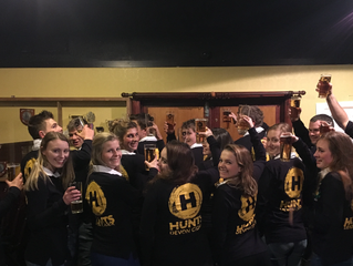 Totnes Young Farmers Club has smartened themselves up for the New Year!