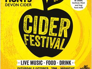 Cider Festival to return in October