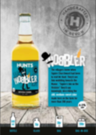 Hunt's Wobbler Devon Cider