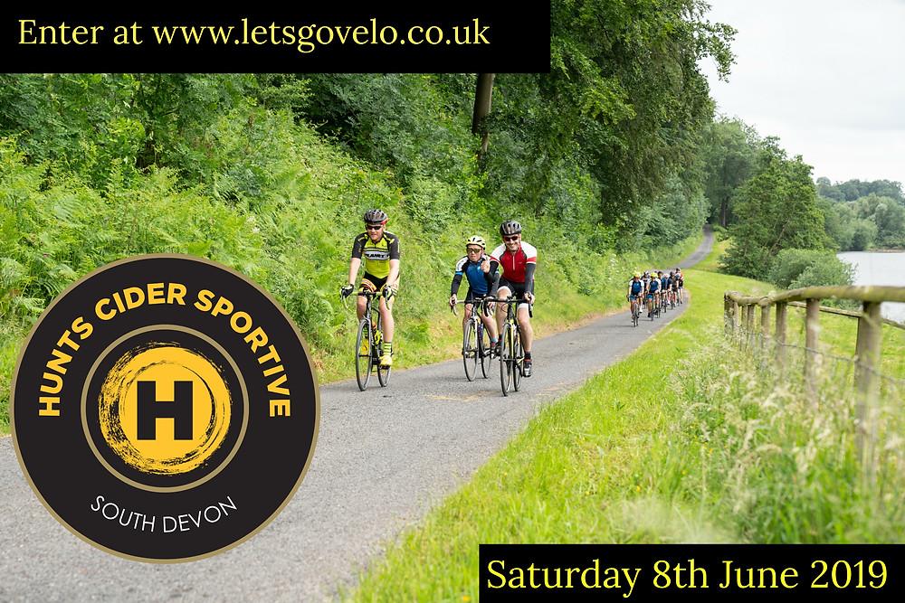 Cyclists taking on the Devon roads