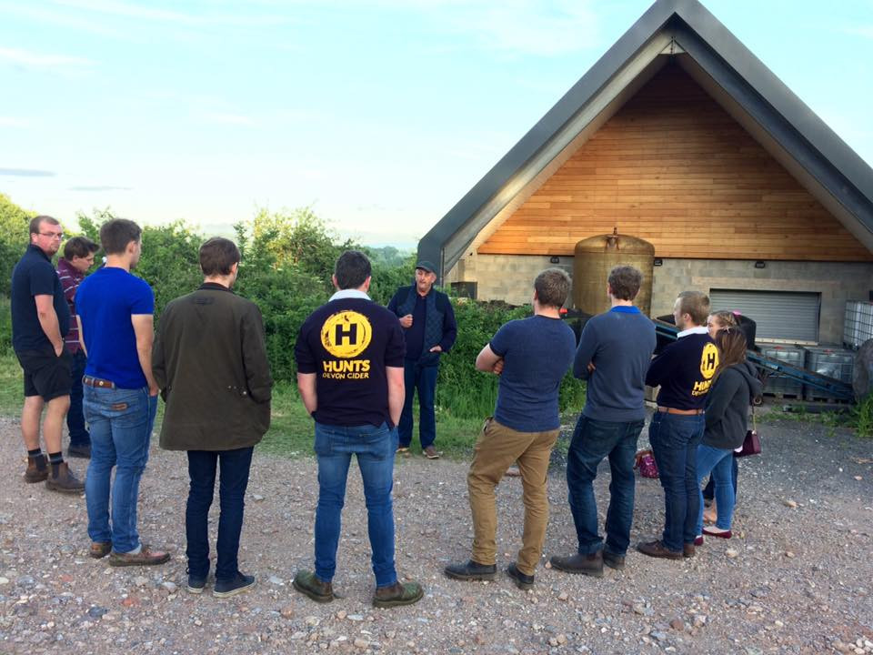 Roger and Totnes Young Farmers