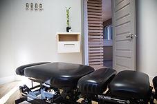 salle de traitement clinique chiropratique