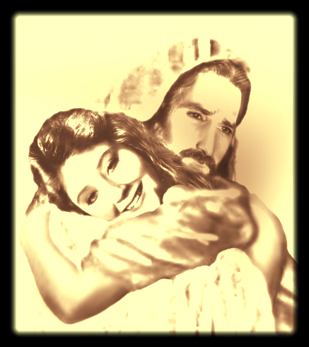 Nancy in Jesus Arms