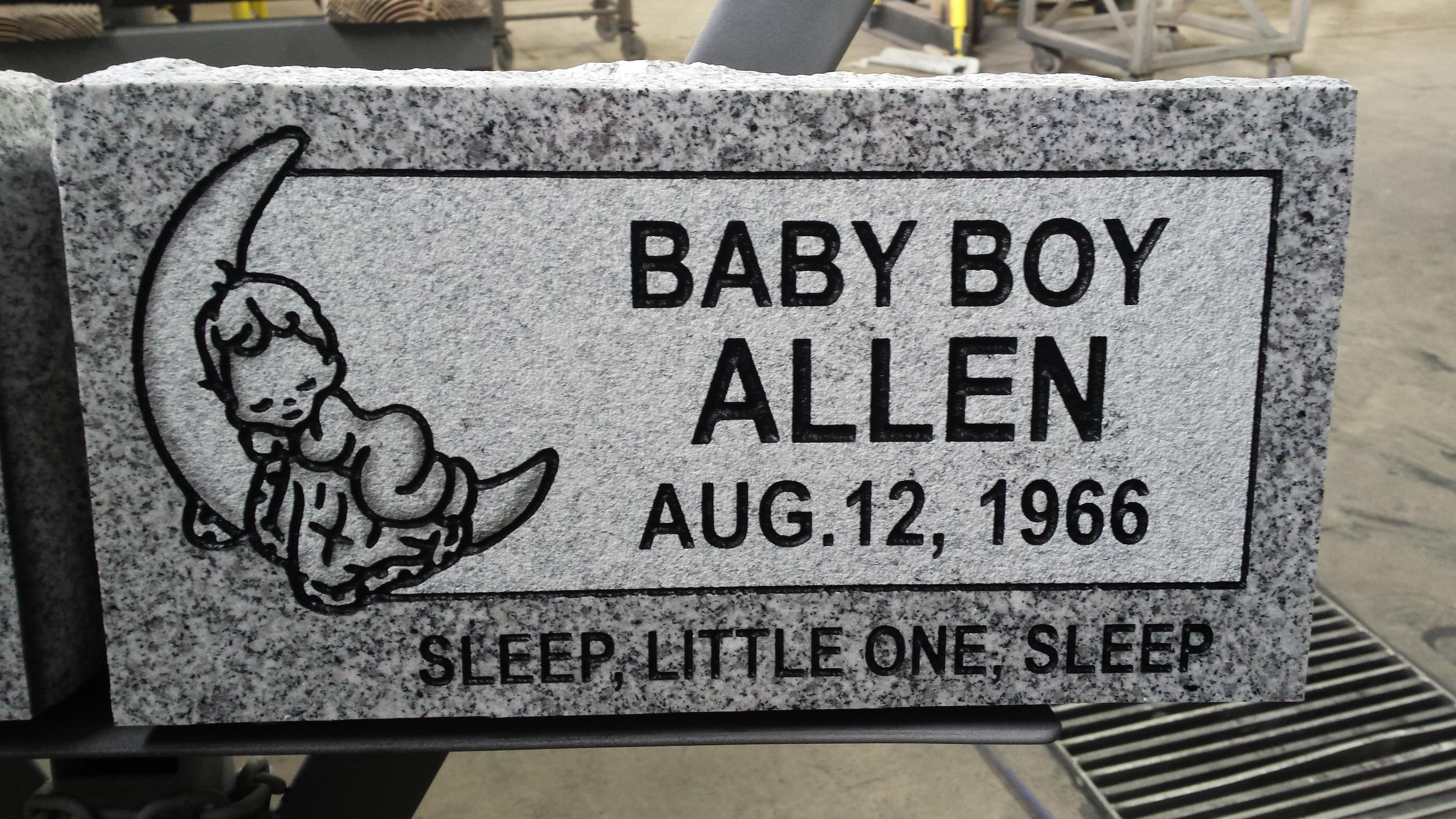 Allen-Boy Sleeping on Moon