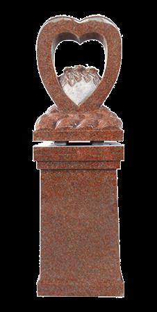Pillar-Carved-Rose-Heart