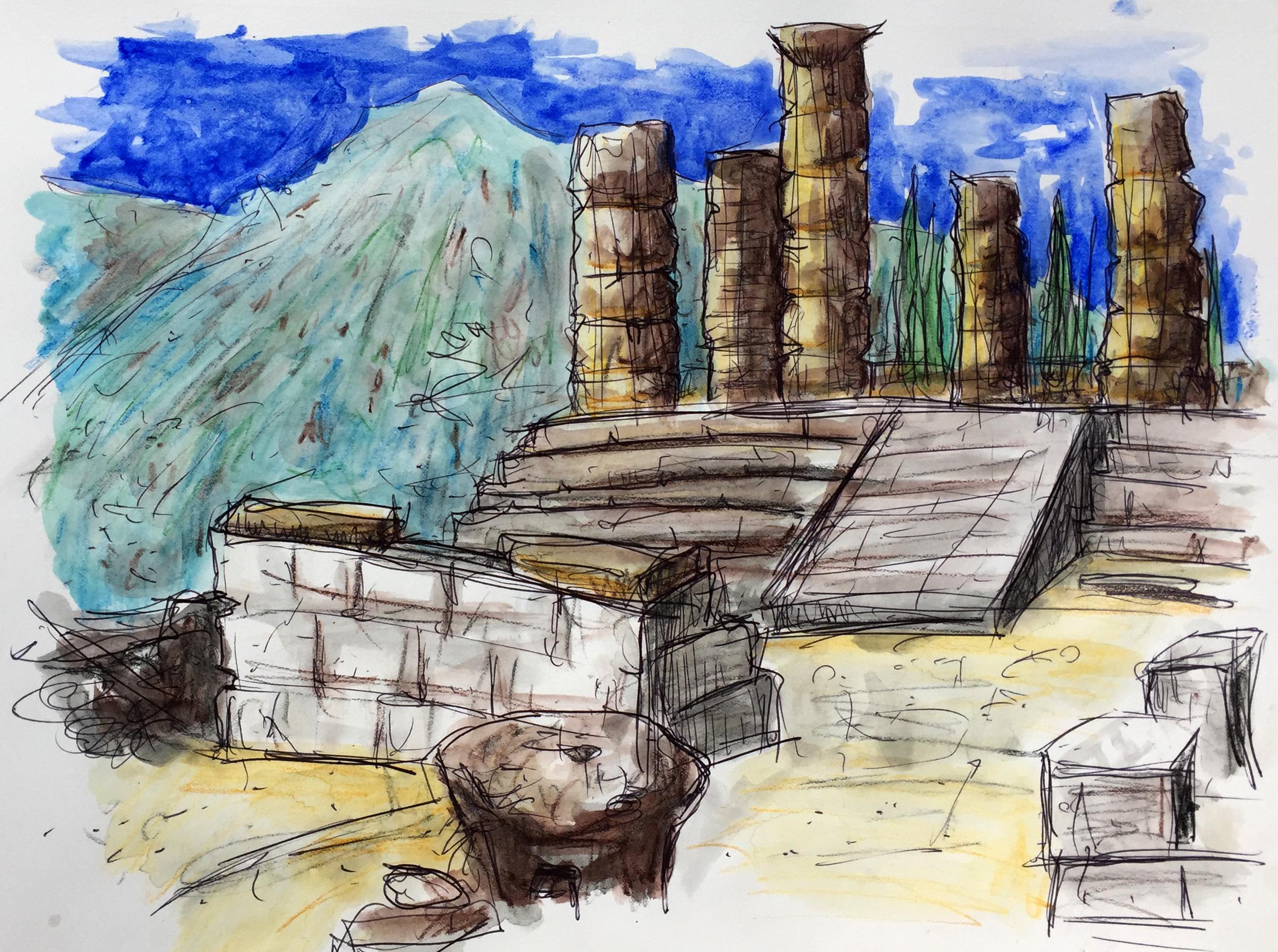 Temple of Apollo - Delphi