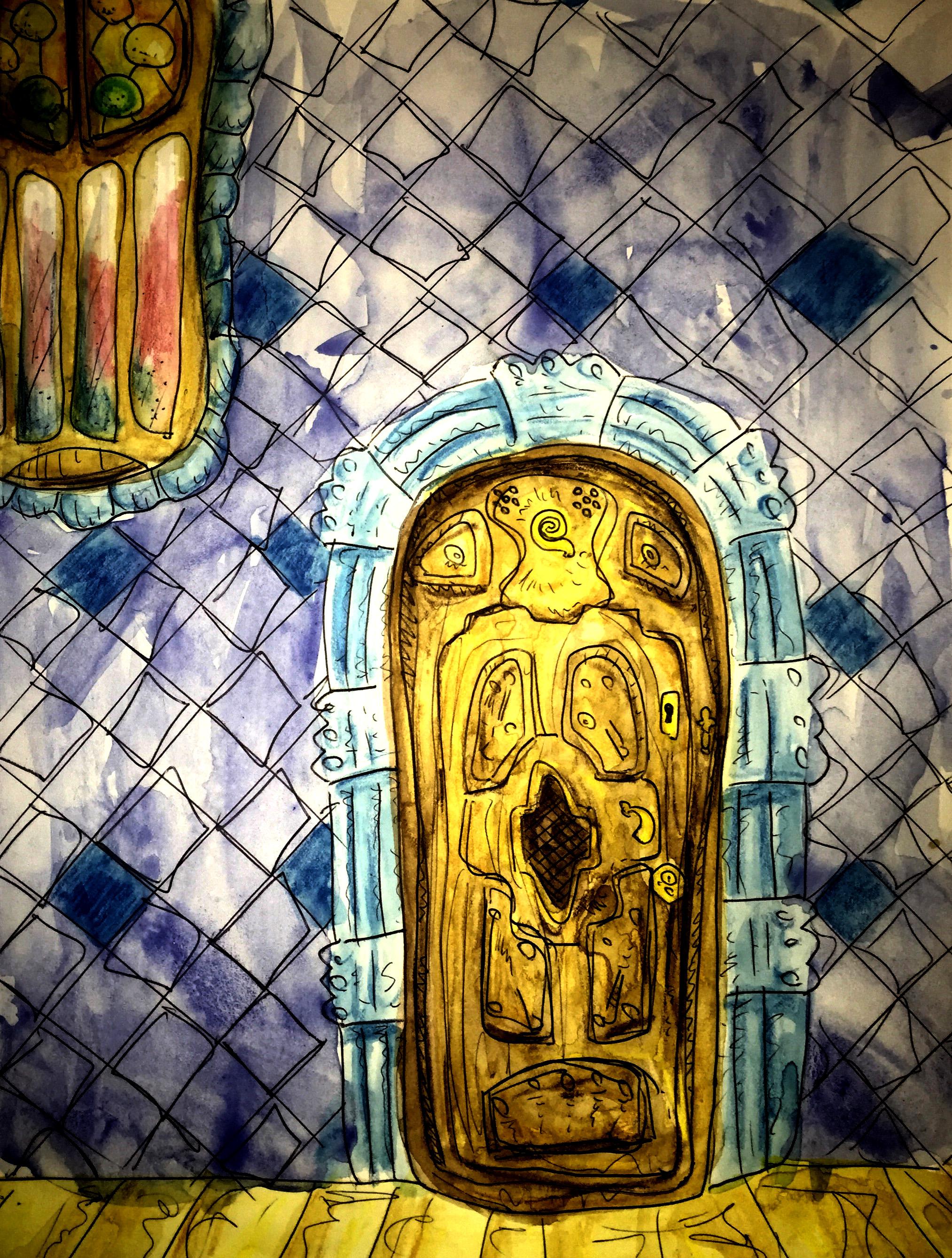 Gaudi Door
