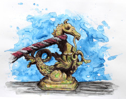 Venetian Seahorse