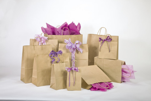 Kraft Paper Shoppers