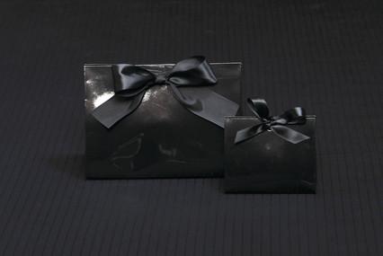 Gloss Black Purse Box