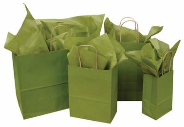 Green Tea Solid Tints on Kraft