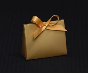 Matte Gold Purse Box