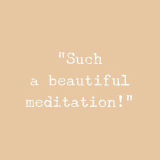 Online meditation feedback