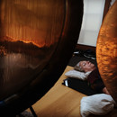 Gong bathing - deeply relaxed!