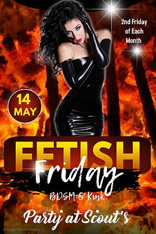 Copy of Fetish Club Party Poster - Made