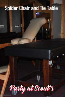 Spider Chair and Tie Table