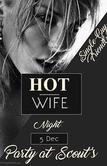 Poster Hot Wife Night - Made with Poster