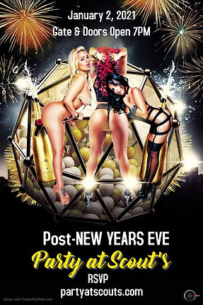 Poster Pre New Years Eve - Made with Pos