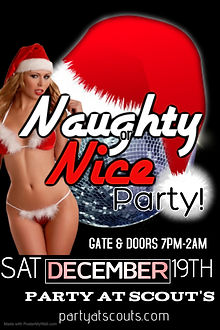 Poster Naughty or Nice II - Made with Po