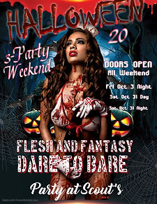 Poster Halloween Weekend - Made with Pos