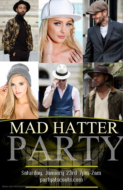 Copy of MAD HATTER and TAIL Party - Made